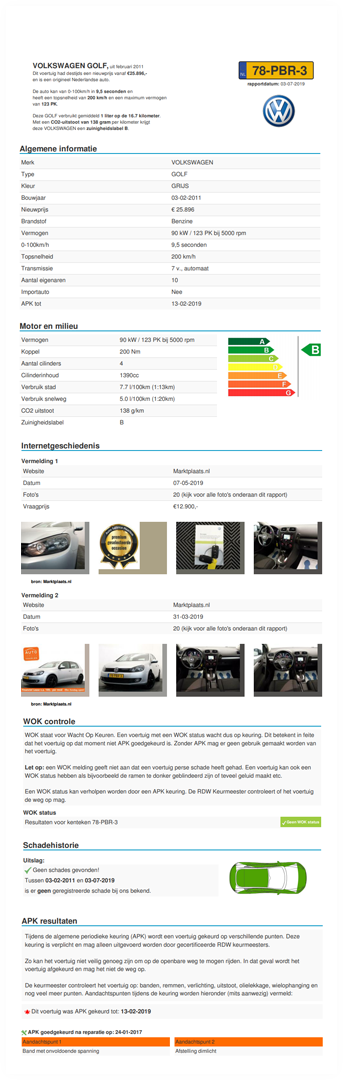 Rdw Kenteken Dagwaarde Auto Gratis Berekenen Rdw Kenteken Check